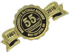 55th Anniversary Badge